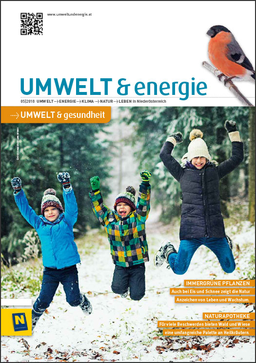 Cover UMWELT & energie 05/2018